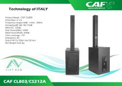 CAF CL-803+CS-212A
