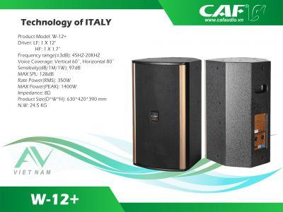Mở ruột loa CAF W12+ siêu khủng cho anh em chiêm ngưỡng, và phân biệt loa CAF xịn chính hãng AV Việt Nam.