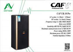 CAF UK-10 Pro