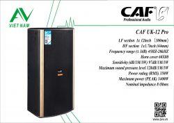 CAF UK-12 Pro