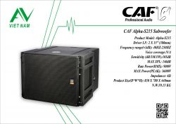 CAF Alpha-S215 Subwoofer line array